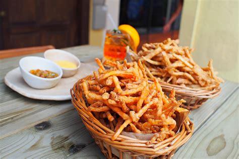 Detox Sweet Potato Fries by Fyr Cycene Ond Drinc New Weekend Brunch Modern European