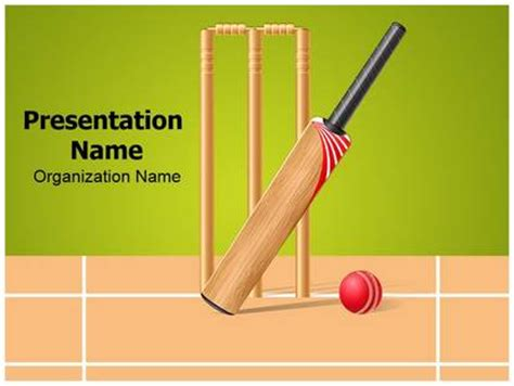 cricket themes for ppt team sports cricket powerpoint template background