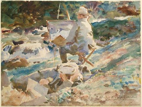 sargent the watercolours the world s catalog of ideas