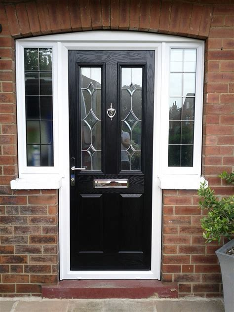 Black Composite Front Door Doors On Front Doors Front Doors