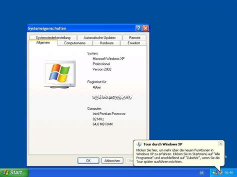windows xp ram requirements windows xp minimal requirement test