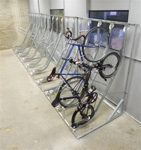 Vertical Bike Racks by Semi Vertical Bike Rack