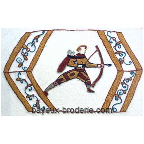 Tapisserie De Bayeux Reproduction by Embroidery Kit Reproduction Bayeux Tapestry Bayeux