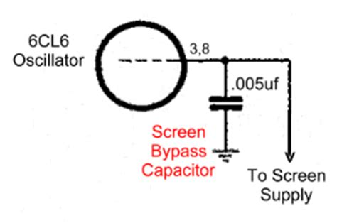 bypass capacitor leakage the aa8v w8exi 6cl6 one transmitter schematic diagrams and circuit descriptions