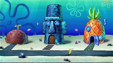 spongebob squarepants house the spongebob squarepants movie spongebob squarepants
