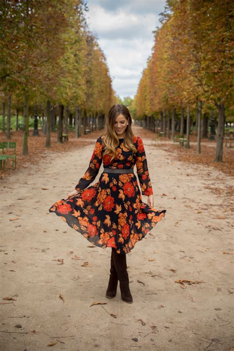 Topshop Dress Autumn by Tuileries Gardens In The Fall Gal Meets Glam