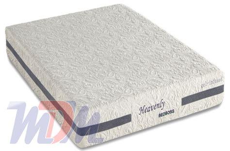 bed boss mattress heavenly a gel infused memory foam mattress from bed boss