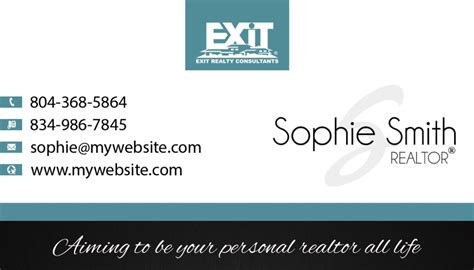 Unique Exit Realty Business Card Ideas Printing Exit Realty Printing Exit Realty Business Cards Template