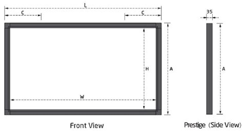 Fixed Frame Screen 133 Inci White Jk grandview large flat series fixed fr end 9 12 2018 8 19 pm