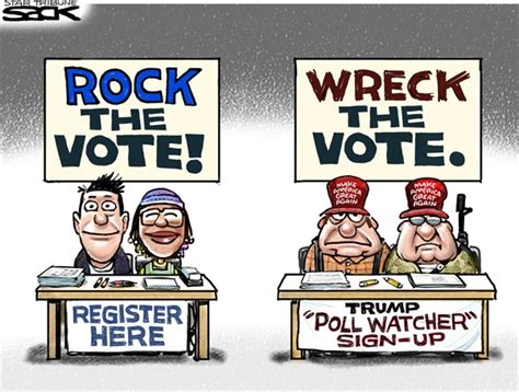 It Bag Watcher Vote In The Poll by Politicalcartoons