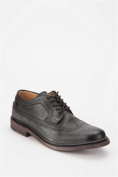 womens oxford shoes outfitters outfitters frye wingtip oxford in black for