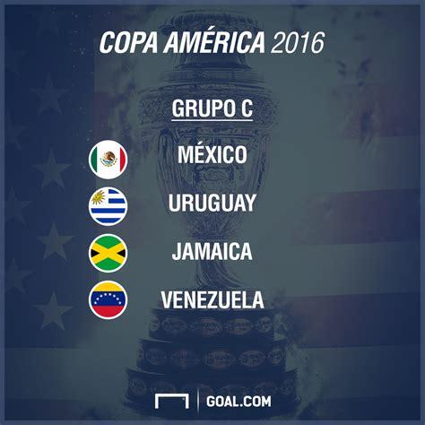 Grupo Argentina Estos Los Grupos De La Copa Am 233 Rica 2016 Goal