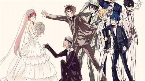 best harem anime animes harem reverso