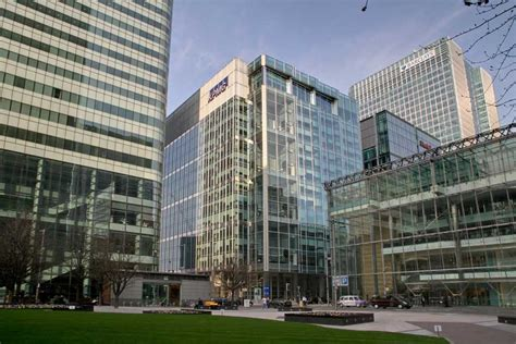 canada square canary wharf building london  architect