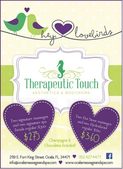 valentines experience days uncategorized 171 therapeutic touch spa and and
