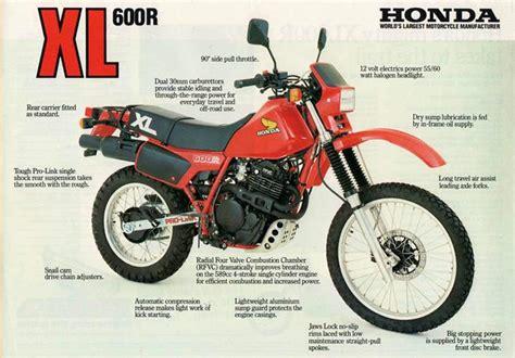 1983 honda xl600r honda xl600r