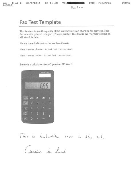 test fax free fax services findafax