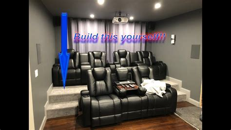 build home theater seat risers diy home theater riser build your own room seating