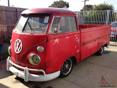 vw ute vw kombi ute for sale ebay