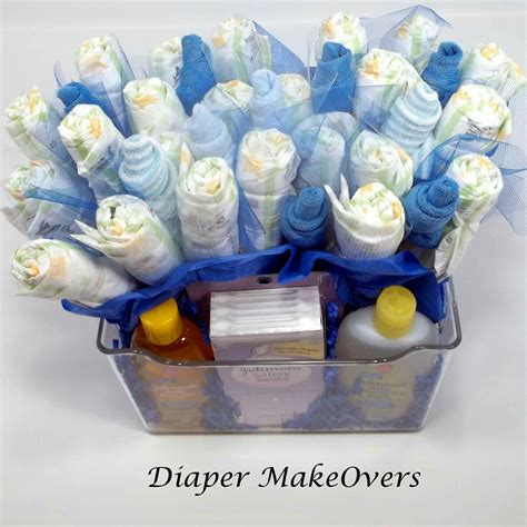 Baby Shower Vases by Bouquet Filled Vase Unique Baby Shower Gift Or