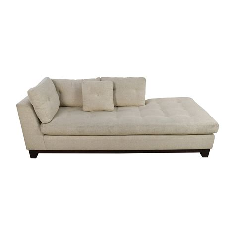 tufted fabric sofa 79 off freestyle freestyle tufted natural fabric sofa