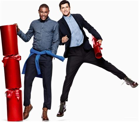 roger dupe sean opry  hm holiday  sean opry trends magazine ad campaign