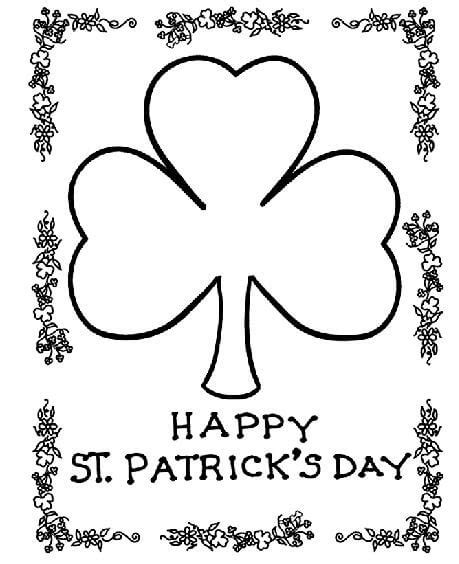 st s day coloring sheet st s day coloring pages and free printables