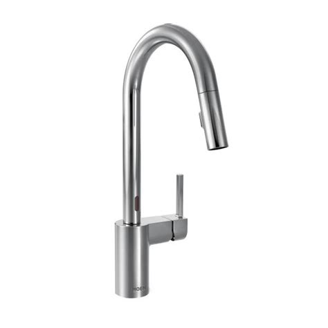 Moen Motionsense Kitchen Faucets by 7565ec Moen Align Series Motionsense Kitchen Faucet Chrome