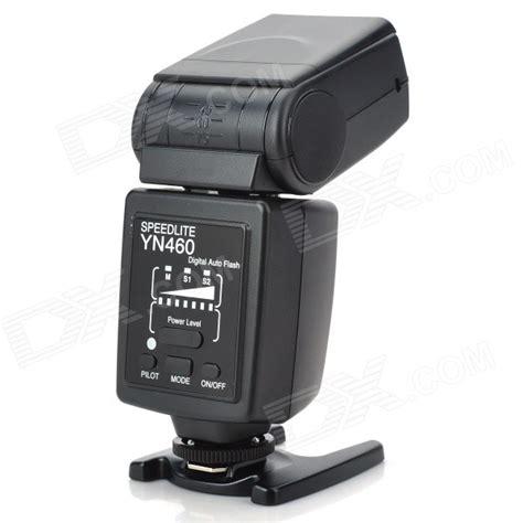 Flash Yongnuo Yn460 yongnuo yn460 speedlite flash with stands soft pouch mode index 33 5600k 4 aa free
