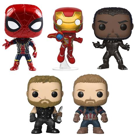 funko pop infinite war super heroes minifigs pvc