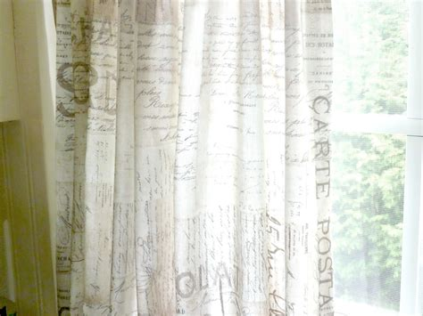 french script curtains curtains in kitchen captainwalt com