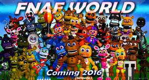 Fnaf world latest news review and updates five nights at freddy s