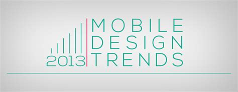 7 design trends from the last year with infographic mobile design trends