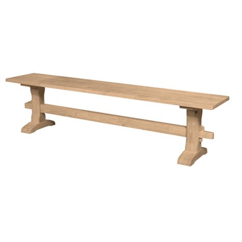 trestle table with benches 72 trestle bench generations home furnishings