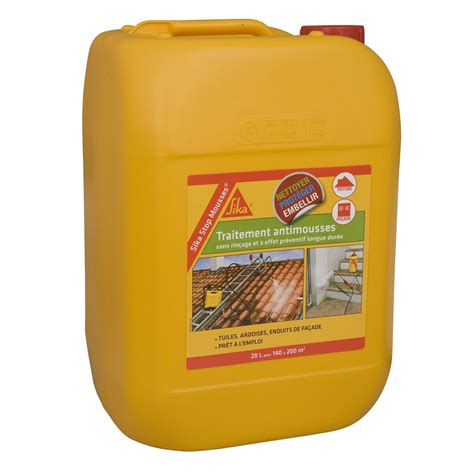 Produit Nettoyage Tuiles by Antimousse Sika Stop Mousses 20 L Leroy Merlin