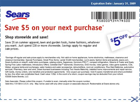 printable sears outlet coupons sears coupons april 2015
