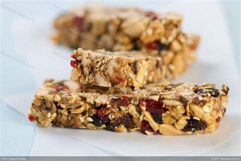 fruit and nut bars dried fruit and nut granola bar recipe