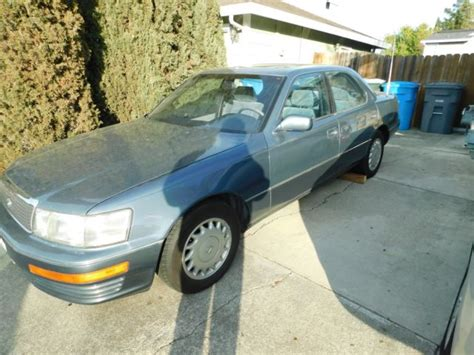 repair anti lock braking 1989 lexus ls transmission control 1989 8 89 lexus ls400 blue on blue sedan v8 automatic classic lexus ls 1989 for sale