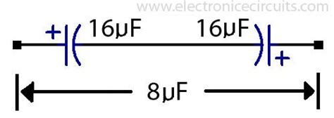 electrolytic capacitors must be connected into a circuit such that 10uf capacitor symbol 10uf wiring diagram and circuit schematic