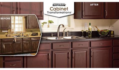 Kitchen Cabinet Transformations rust oleum cabinet transformations