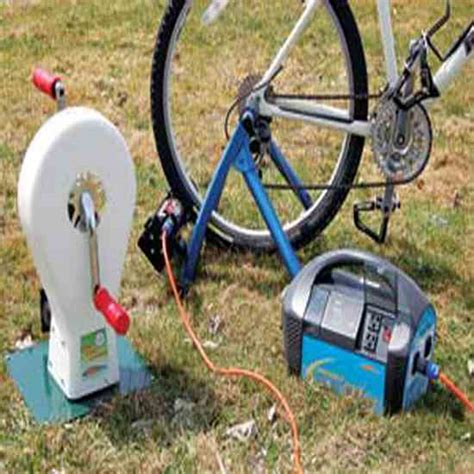 pedal powered generators save you money renewable energy