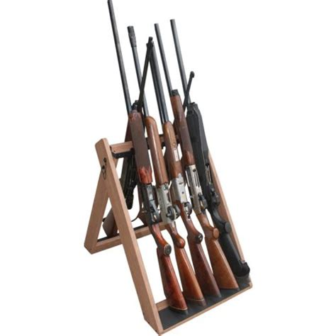 Gun Racks by Creek Folding 10 Gun Rack Academy