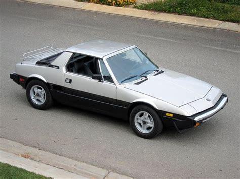 fiat x19 wheels 1980 fiat x19 bertone california car restored look