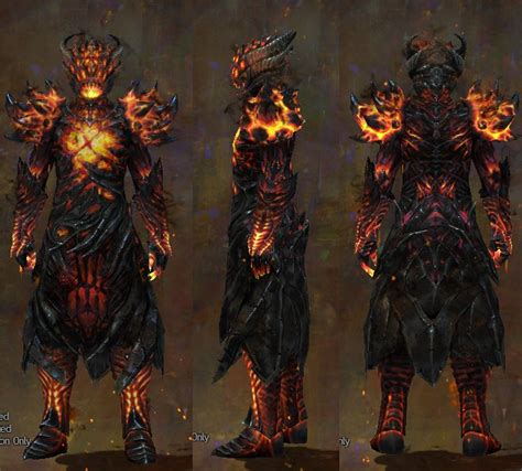 Gw Set For gw2 radiant and hellfire chests and legs dulfy