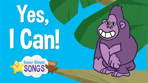 what can i do books yes i can animal song for children simple