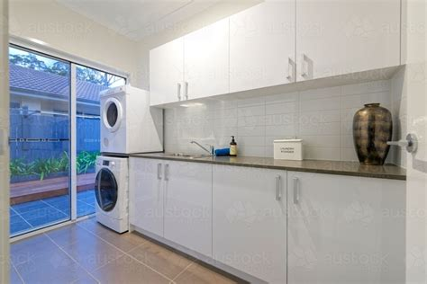 washing machine and dryer cabinets image of white modern laundry with washing machine and