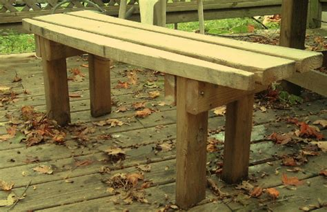 2x6 bench kathy s picnic table benches