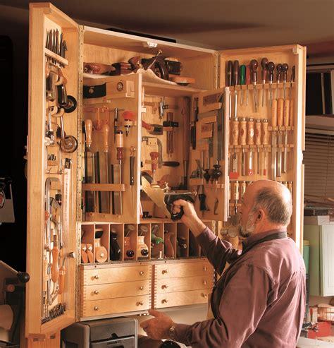 woodwork wood tool storage cabinet plans  plans