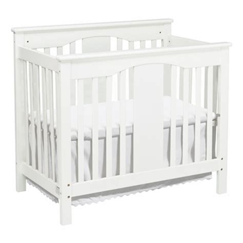 Davinci Annabelle Mini Crib White Davinci Annabelle 2 In 1 Mini Convertible Crib In White