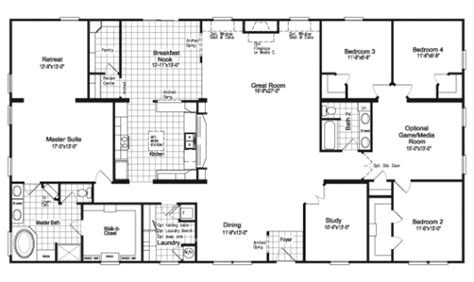 triple wide manufactured home floor plans palm harbor modular homes floor plans or modular floor
